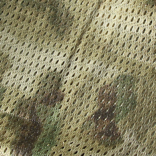 Showing the perforated fabric on a Sniper Scarf Marshland.