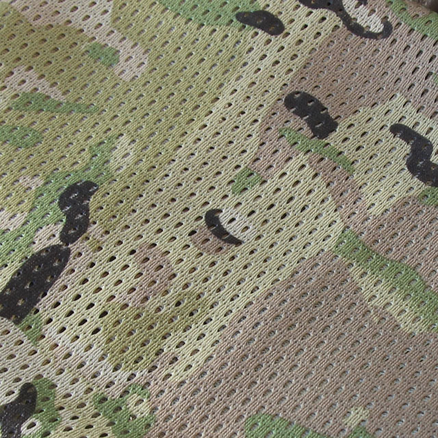 Closer look at a Mesh Scarf Multicam