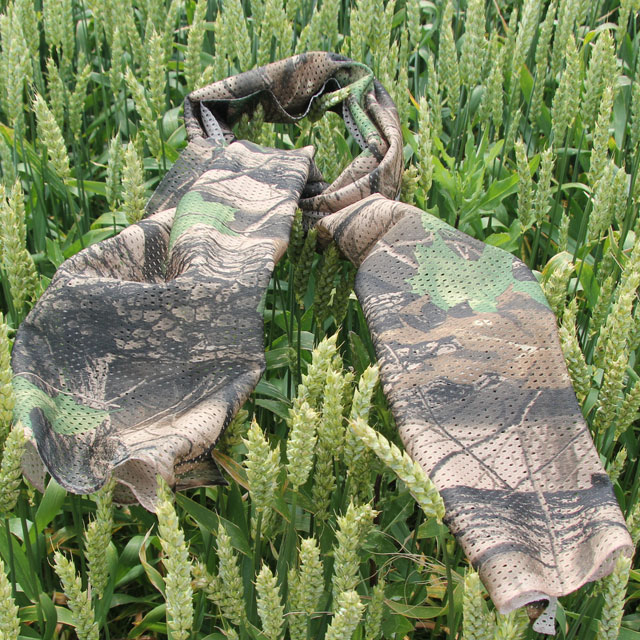 A Sniper Scarf Tree and Leaves on a summer crop for product photo.