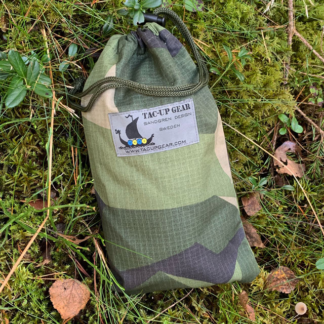 A Mini Bag Ripstop M90 in the Swedish forest!