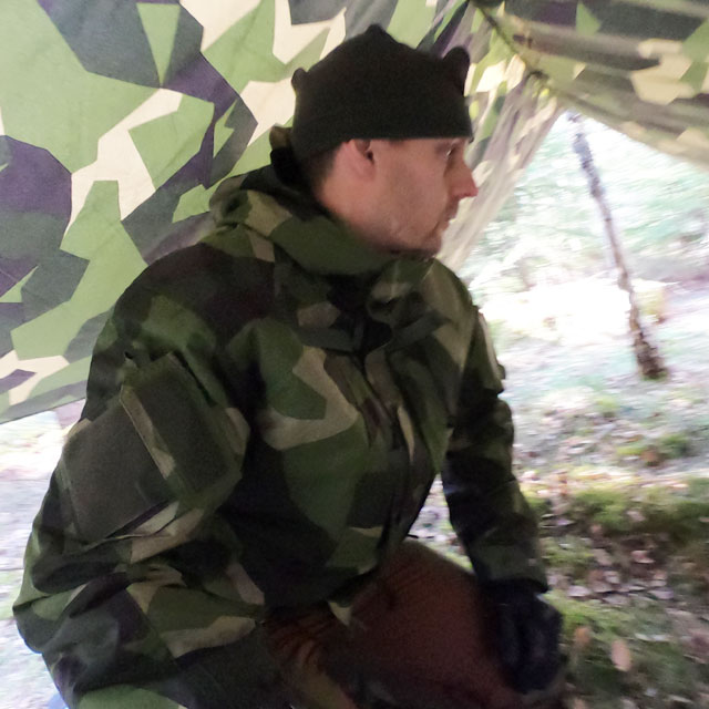 NCWR Jacket M90 worn in camp
