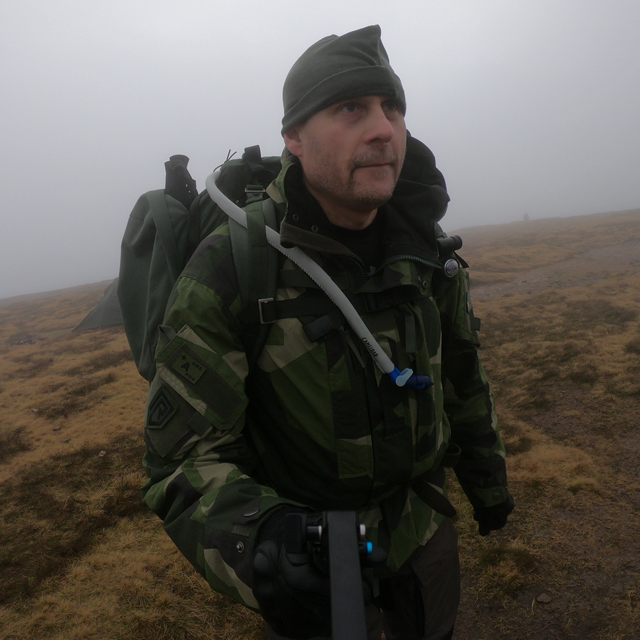 NCWR Jacket M90 used during Endurance Race on Pen y Fan