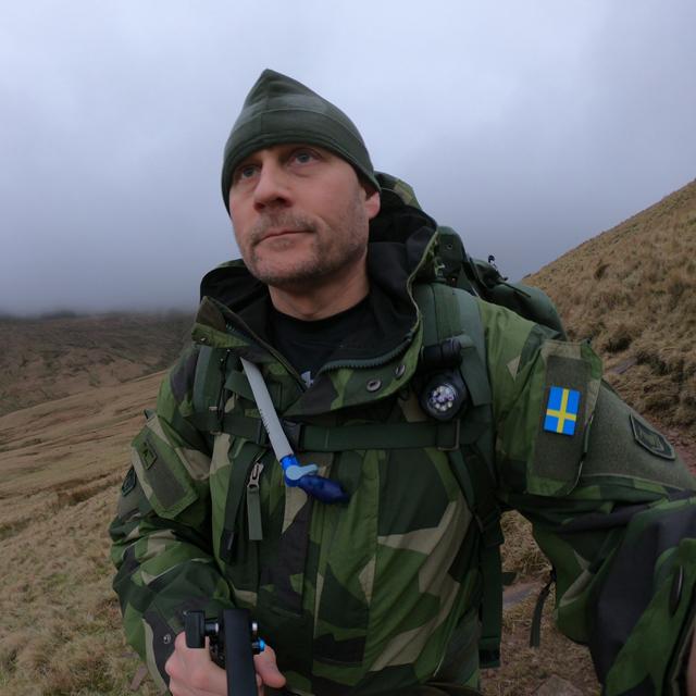 NCWR Jacket M90 in mountain scenery on Pen y Fan