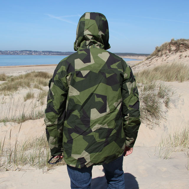 Full on back view of the NCWR Jacket M90 Gen2