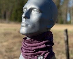 Neck Tube Merino Wool Purple