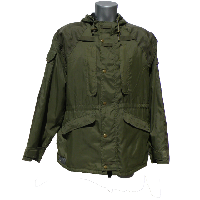 Nomad Jacket Green front picture.