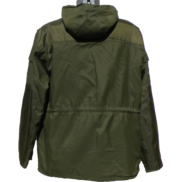 Nomad Jacket Green back view.