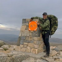 Orange Ruck Signal Panel Marker