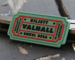 Biljett Valhall PVC Ljusgrön