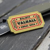 Biljett Valhall PVC Gul/Röd