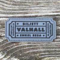 Biljett Valhall PVC Grå