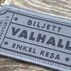 Biljett Valhall Grå