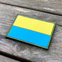 Blå-Gul Hook Patch