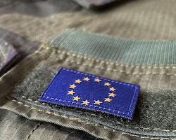 EU Flag Hook Patch Small