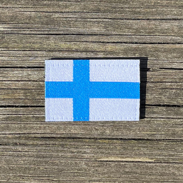 Finland Flag Hook Patch Small from TAC-UP GEAR