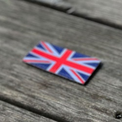 Great Britain Flag Hook Patch Small