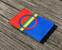 Sámi Flag Hook Patch Small