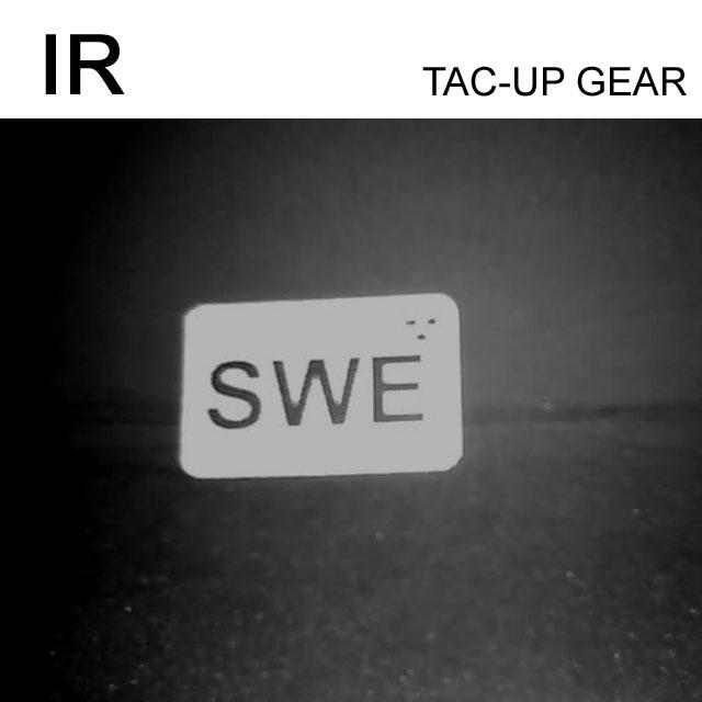IR - SWE Flagga Dual IFF Grön/Svart.