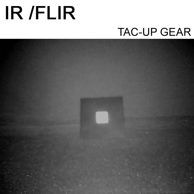 Sedd genom en IR-kamera.