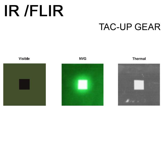 IR and FLIR IFF ID Märke Grön.