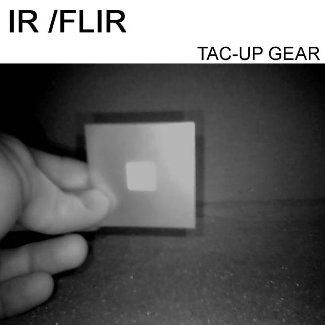 IR and FLIR IFF ID Märke Öken.