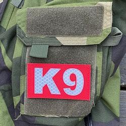 IR - K9 Red Hook Patch