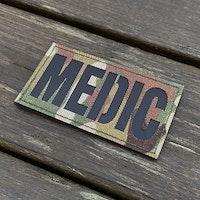 IR - MEDIC Multicam Hook Patch