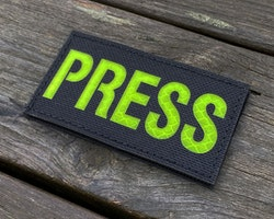 IR - PRESS Yellow txt Hook Patch