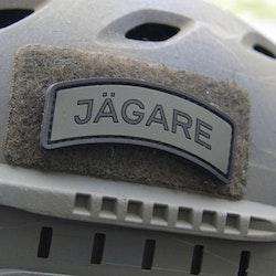 JÄGARE Black/Green/Black PVC Patch