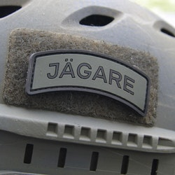 JÄGARE Black/Green/Black PVC Patch
