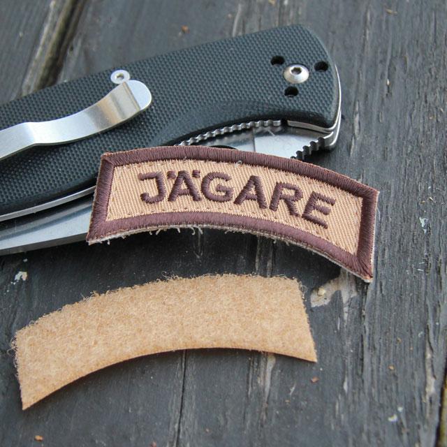 JÄGARE Brown/Sand/Brown Desert Hook Patch.