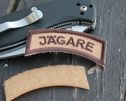 JÄGARE Brown/Sand/Brown Desert Hook Patch