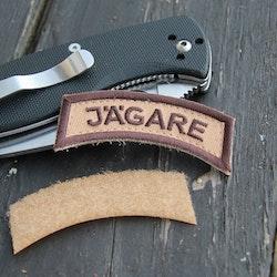 JÄGARE Brown/Sand/Brown Desert Hook Patch