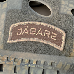 JÄGARE Desert Hook Patch