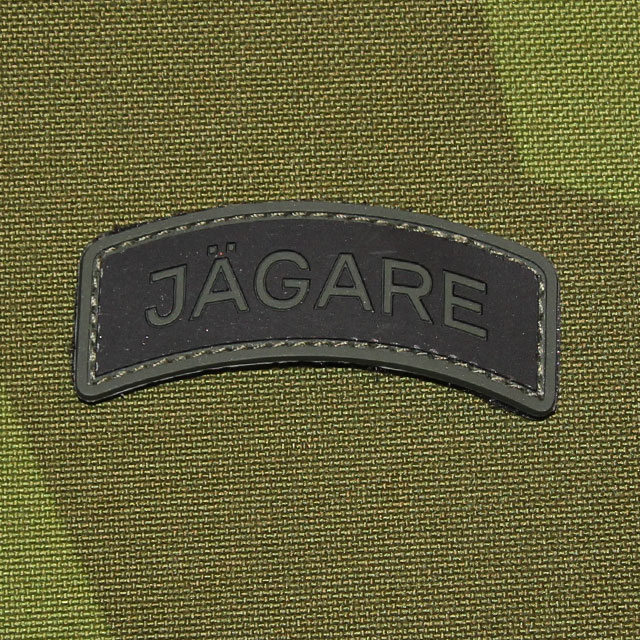 JÄGARE Green/Black/Green PVC Patch.