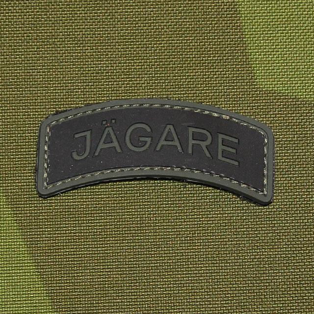 JÄGARE Green/Black/Green PVC Patch.