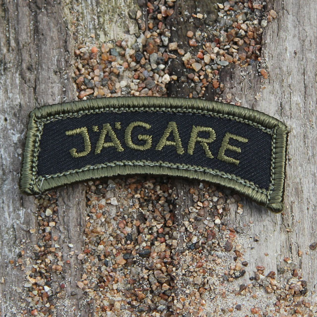 Product picture of a JÄGARE Patch Green/Black/Green M14.