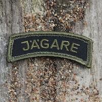 JÄGARE Patch Green/Black/Green M14