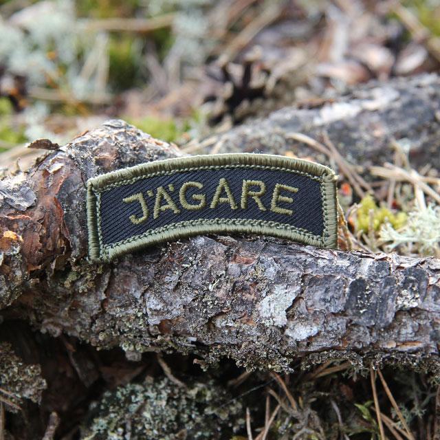 JÄGARE Patch Green/Black/Green M14.