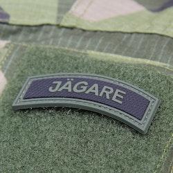 JÄGARE Green/Black PVC Patch M15
