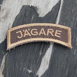 JÄGARE Sand/Brown/Sand Desert Tab Hook Patch