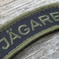 JÄGARE Hook patch Green/Black/Green