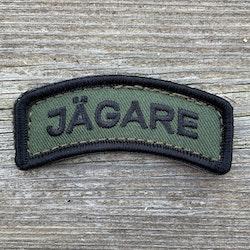 JÄGARE Hook Patch Black/Green/Black - M19