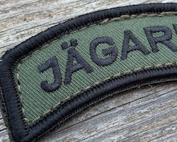 JÄGARE Hook Patch Black/Green/Black - M19