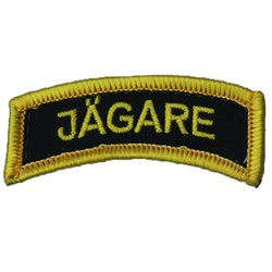 JÄGARE Hook Patch Yellow/Black/Yellow