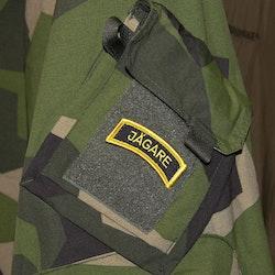 JÄGARE Hook Patch Yellow/Black/Yellow