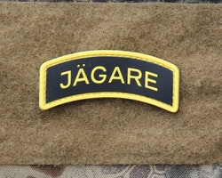 JÄGARE Yellow/Black/Yellow PVC Patch