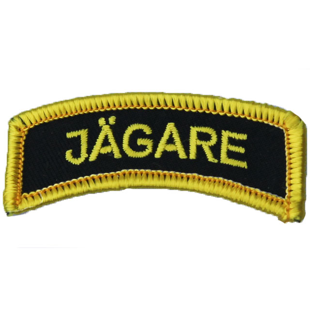 Product picture of a JÄGARE Patch Yellow/Black/Yellow.