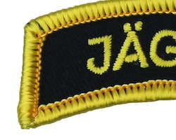 JÄGARE Patch Yellow/Black/Yellow