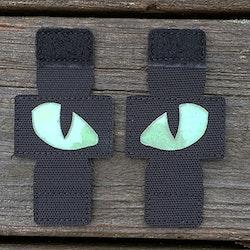 Lynx Glow Eyes Black Hook Tube